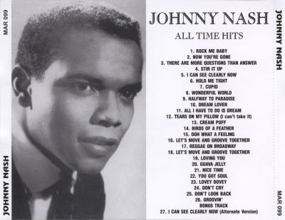 Johnny Nash - All Time Hits-back